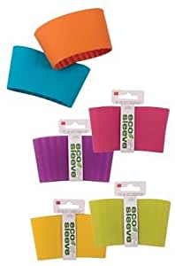 DCI Eco Sleeve - Silicone Cup Sleeve - Green