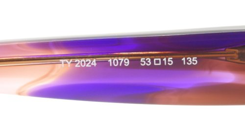 Tory BurchTory Burch 2024 Eyeglasses 1079 Light Brown Horn Demo Lens