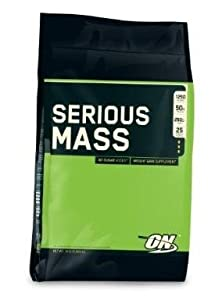 Optimum Nutrition Serious Mass Strawberry 18-Pounds