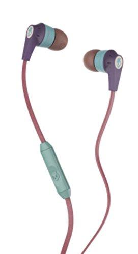 Skullcandy-Inkd-20-In-Ear-With-Mic-Purple-Salmon-Green