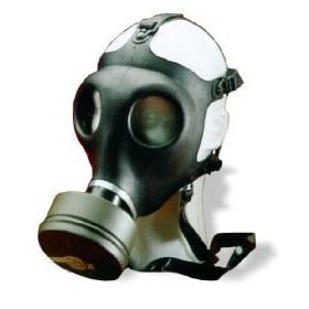 Israeli Civilian Military Gas Mask w  Nato Filter by Fox+Outdoor