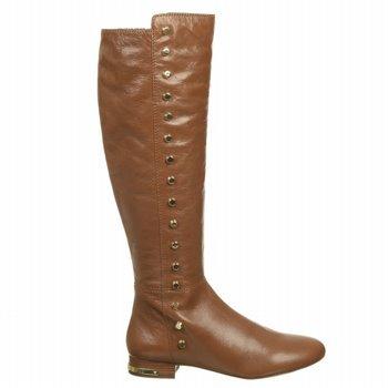 Michael Michael Kors Women'S Ailee Flat Boot (Walnut Leather 6.5 M)