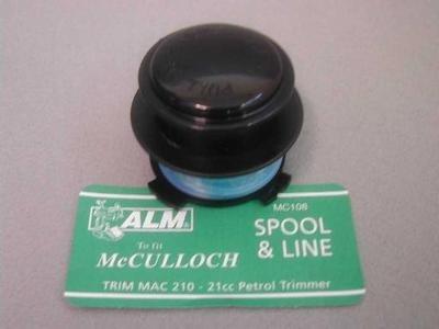 Bobina & line: decespugliatore McCULLOCH Trim-Mac & Alm McCULLOCH Trim-Mac 210, 21cc: PARTNER Colibri, Colibri-Plus leggero benzina: POULAN Featherlite: WEEDEATER Featherlite, Featherlite Plus, Featherlite SST, XT25, Handystick, EL8