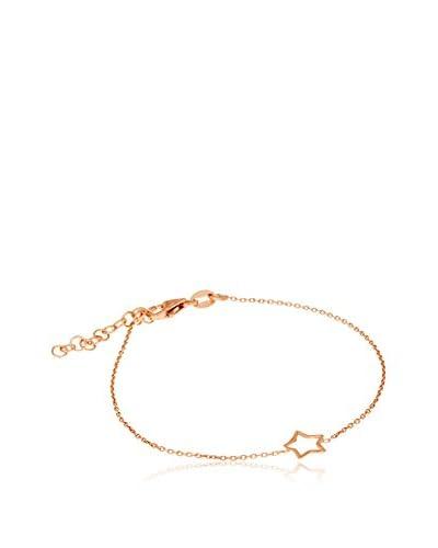 Córdoba Jewels Pulsera  plata de ley 925 milésimas bañada en oro