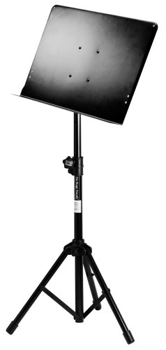 On-Stage SM7211 Professional Folding Orchestral Music Stand, Black