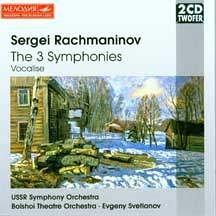 Rachmaninov: The 3 Symphonies