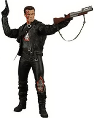 Picture of NECA Terminator 2 Series 3 T-800 (Steel Mill) Action Figure (B003OEIIB2) (NECA Action Figures)