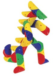 Guidecraft Twisters - 91 Pieces