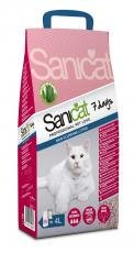 Sanicat Aloe Vera 7 Days Cat Litter 4ltr (Pack of 4)