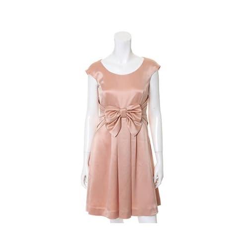 (クリアインプレッション)Clear Impression dress サテンリボンワンピース ピンク 02