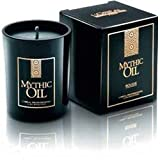 Loreal Mythic Oil Bougie Candle with Mythic Oil Souffle Sparkling Shampoo 75ml x1 & Conditioner 75ml x1 minis