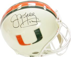 Jim Kelly signed Miami Hurricanes Full Size Authentic Helmet by Athlon+Sports+Collectibles