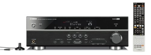 Yamaha RX-V667 7.2-Channel Home Theater Receiver (Black)