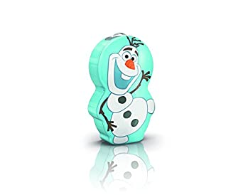 Philips Disney Frozen Children's Torch and Night Light (1 x 0.3 W Integrated LED)
