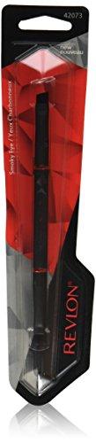 Revlon-Spazzola a doppia estremità, colore: nero