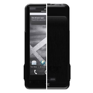 New High Quality OtterBox Commuter Series f/Motorola® DROID X™/MILESTONE X™ - Black