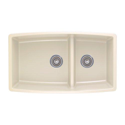 Blanco 441311 Performa 1.75 Medium Bowl Sink, Biscuit
