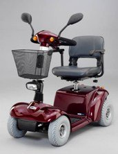 Pilot 2410 4/Four Wheel Power Mobility Scooter Medical