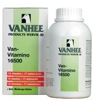 Vanhee Van Vitamino 16500 500 ml. Vitamins and amino acids. For Pigeons, Birds & Poultry