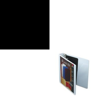 KITCRD10400HONS42ABCP - Value Kit - Cardinal SuperStrength ClearVue Locking Slant-D Ring Binder (CRD10400) and The HON Company HON Brigade 3-Shelf Steel Bookcase, Black (HONS42ABCP)