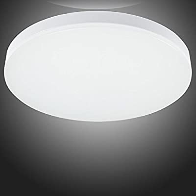 S&G LED Ceiling Lights, Flush Mount Ceiling Light for Bedroom Living Room Office, 12W 4000K(Natural White)