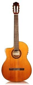 cordoba c5 ce left handed acoustic electric nylon string classical guitar musical. Black Bedroom Furniture Sets. Home Design Ideas