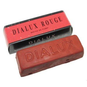 Dialux Red Compound Polishing Luster Rouge Paste Watch Jewelry 140g Repair Tool