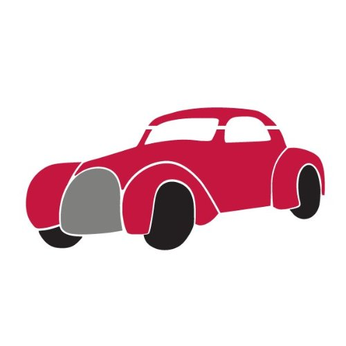 Car Stencil For Painting Cars On Walls And Furniture On A Boys Wall Mural front-983872