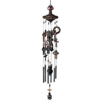 Russ Berrie CJ-7025 Crosses Wind Turner Chime