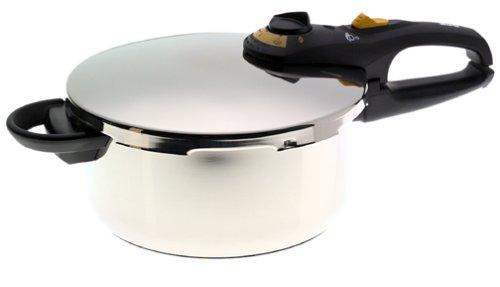 Fagor Duo Stainless-Steel 4-Quart Pressure Cooker (Pressure Cooker 4qt Stainless compare prices)
