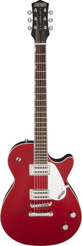 Gretsch G5421 Electromatic Jet Club Electric Guitar With Rosewood Fretboard - Firebird Red Top With Black Back And Sides