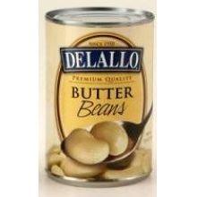 Delallo Butter Beans, 15.5 Ounce -- 12 Per Case.