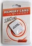 Carte mémoire Gamecube GC WII 128MB NEUVE