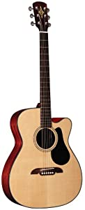 Alvarez Acoustic Guitar RF8C Cutaway Folk W/Hard Case - multiples of 4  Spruce Back & Side Mahogany