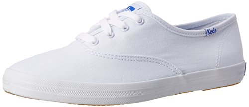 Keds Women's Champion Original Canvas Sneaker, White Canvas,7.5 M US (White Goodman compare prices)