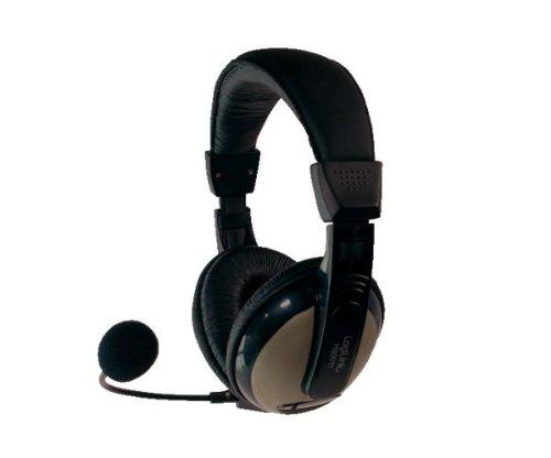 LogiLink HS0011 Stereo Headset mit hohem Tragekomfort und Mikrofon