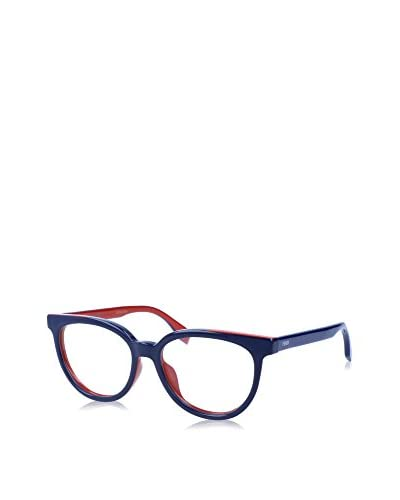 Fendi Montura 0122/F (51 mm) Azul