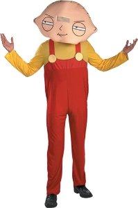 [Stewie Costume - Medium - Chest Size 38-40] (Stewie Head Costume)