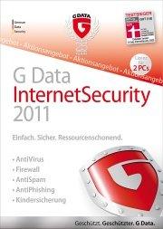 GDATA SOFTWARE G Data InternetSecurity 2011 2PC Sonderedition [Software], PC