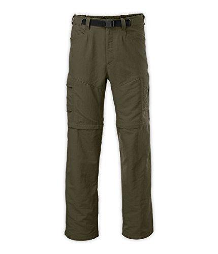 THE NORTH FACE Paramount Peak II - Pantaloni da uomo reversibili, Verde (New Taupe Green), L