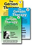 """The Gerson Therapy: Healing """"Incurable"""" Illness DVD (Vol. 1: Overview and Patient Testimonials, Vol. 2: The Gerson Therapy at Home, Vol. 3: Gerson Therapy Food Preparation)"""