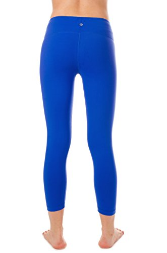 "90 Degree By Reflex 22"" Yoga Capris Lightning Blue S"