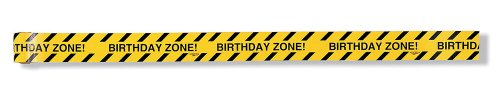 Creative Converting Under Construction Birthday Zone Warning Tape