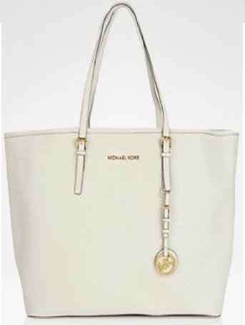 Michael Michael Kors Tote Jet Set Travel VANILLA