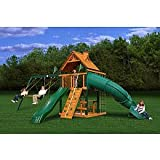 Gorilla Playsets Blue Ridge Mountaineer Wood Swing Set