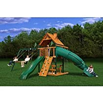 Hot Sale Gorilla Playsets Blue Ridge Mountaineer Playground System