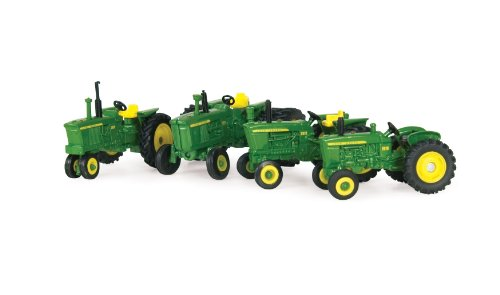 Ertl Collectibles 1:64 John Deere 1010 2010 3010 And 4010 Tractor Set Picture