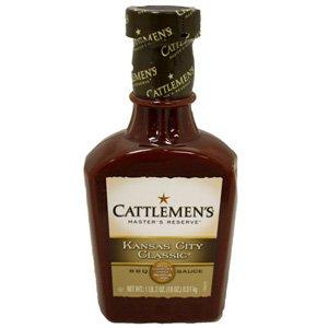 Cattlemen's Kansas City Classic BBQ Sauce 18oz 6 Pack