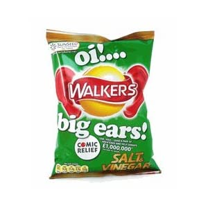 Walkers Salt and Vinegar Crisps - 1.2 oz - 6 Pack