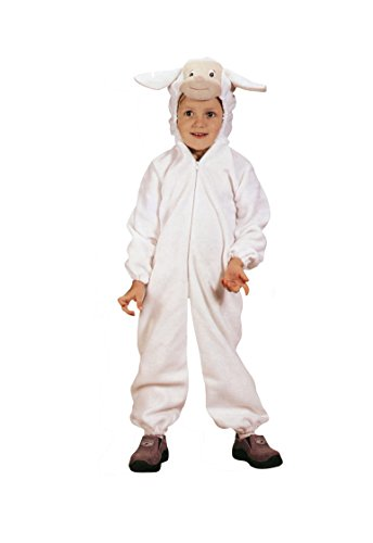 RoarSoar Pretend Play Flac Sheep Costume (Age 7 to 8 Years), Large, One Color (Sheep Costume For Kids)